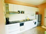 Kitchenette with washer
