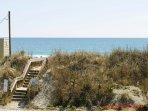 Ocean View (& Beach Access) from 1st Floor Deck