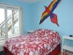 1st Floor Middle Oceanfront Bedroom with Queen Bed
