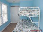 1st Floor Streetside Twin/Double Bunk Bed