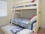 1st Floor Streetside Bedroom - Bunk Bed & Trundle