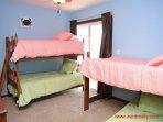 1st Floor Oceanfront Bedroom - 2 Bunk Beds