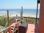 1st Floor Oceanfront Deck w/ Fish Cleaning Station