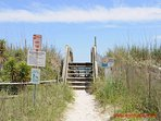 Public Beach Access on Seashore Drive