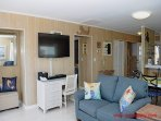 Living Room II with a Single Sofa Sleeper