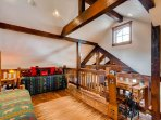 Loft located above Great Room