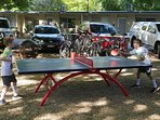 Out door table tennis table
