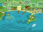Some of the many fun things to check out in nearby West End (Half Moon Bay section).