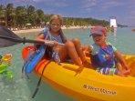 Free kayaks for you!