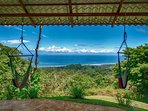 Relax in the hammocks overlooking the beautiful blue Pacific Ocean. Plenty of wildlife to see too!