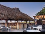 Just a short beach walk to Coligny Circle and the world famous beachfront Tiki Bar