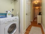 Ours is the ONLY unit in Ocean Dunes with a in-room washer/dryer.