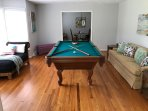 Family Home with Pool Table