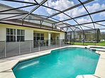 Escape to the Sunshine State in this 5-bedroom, 4.5-bathroom vacation rental house in Davenport.