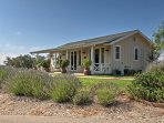 For a once-in-a-lifetime getaway in the rolling hills of California, book this vacation rental cottage!