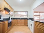 Kitchen with all amenities for self-catering.