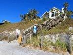 Typical Beach Access in Seagrove Beach