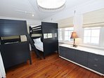 Large Bunk Bedroom on 2nd Floor