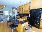 Kitchen Island - Towards Fridge
