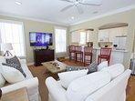 Main Living Area Seating Area Has TV