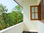 Open balcony for Super deluxe room