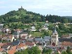 Le village de Dabo, au pied du Rocher et sa chapelle dédié au Pape St Léon IX