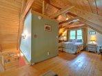 Loft - Queen Bed, Upper Level