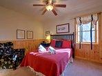 Bedroom 4 - Queen Bed, Mezzanine Level
