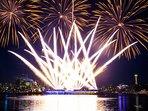 July 4th's Firework on Lake Union