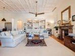 Bright large lounge