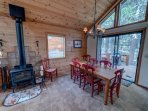 Dining Area & Back Porch (Fireplace Off Limits)