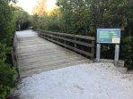 Enjoy nearby Coquina Bay Walk