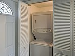 You'll feel right at home with personal in-unit laundry machines available!