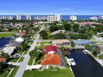 Aerial: Walking Distance to the Beach