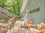 Explore everything that the Blue Ridge Mountains have to offer from this newly renovated 3-bedroom, 2-bath vacation...