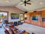 Home theater area, perfect for enjoying movies or sports events with the family