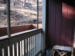 Nice Balcony with Wooded View