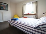 Large double bedroom, with quality bed linen and towels provided