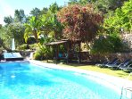 Sun Door Ibiza Retreats swimming pool & tropical gardens