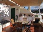 Roof terrace kitchenette