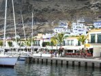 The yacht marina with restauaants to suit every taste.