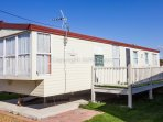 6 berth caravan for hire at Lees Holiday Park. Emerald rated.
