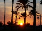 A Los Alcazares sunset