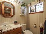 3rd Bathroom by the kitchen; half bath