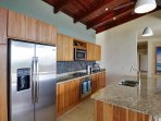 KitchenKitchen with granite counter-tops and stainless steel app
