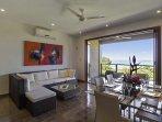 Indoor/outdoor in tropical setting