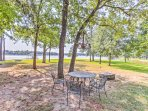 Experience everything that the Cedar Creek Lake has to offer from this beautiful 4-bedroom, 2-bathroom vacation rental...