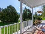 You'll love spending time outside, taking in the mountain views!