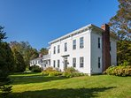 Experience Vermont like never before from this historic home in Manchester Center!