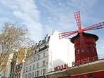 The Moulin Rouge 10 mns walk